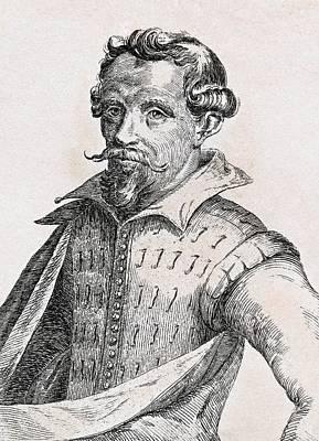 Hendrick Cornelisz Vroom 1566-1640 Art Print