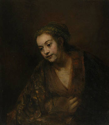 Painting - Hendrickje Stoffels by Rembrandt