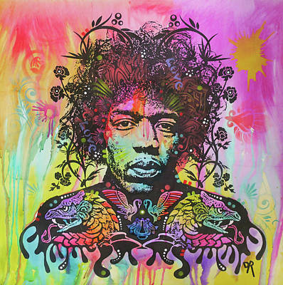 Hendrix Dragon Art Print
