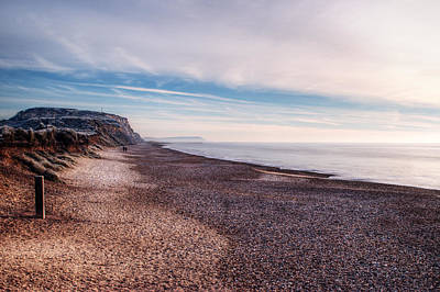Photograph - Hengistbury Head And Beach by Chris Day
