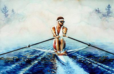 Henley On The Horizon Art Print by Hanne Lore Koehler