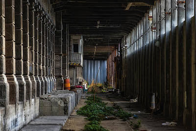 Photograph - Hennebique Silos 3 Industrial Archeology Abandoned Places by Enrico Pelos