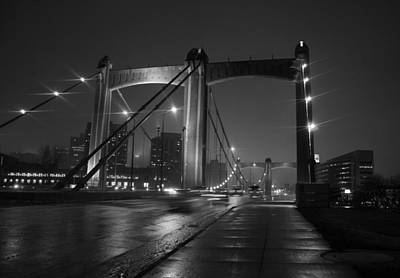 Mississippi River Photograph - Hennepin Avenue Bridge by Heidi Hermes