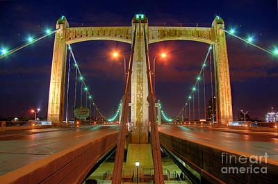 Photograph - Hennepin Avenue Bridge Minneapolis by Wayne Moran