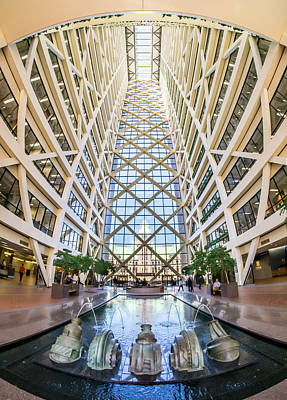 City Hall Photograph - Hennepin County Government Center In Minneapolis Minnesota by Jim Hughes