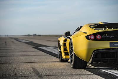 Transportation Digital Art - Hennessey Venom Gt Spyder by Maye Loeser