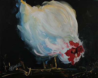 Painting - Henpecked by Terri Einer