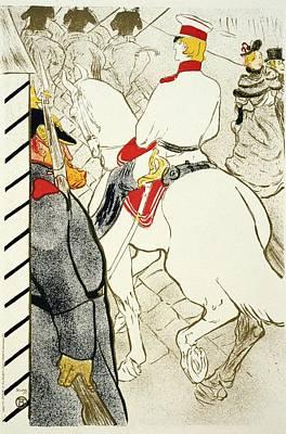 Mixed Media - Henri De Toulouse Lautrec Illustration - Vintage Art Nouveau Poster - Belle Epoque - Paris by Studio Grafiikka