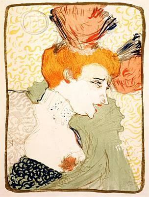 Painting - Henri De Toulouse Lautrec, Mlle. Marcelle Lender En Buste, 1895 by Vintage Printery