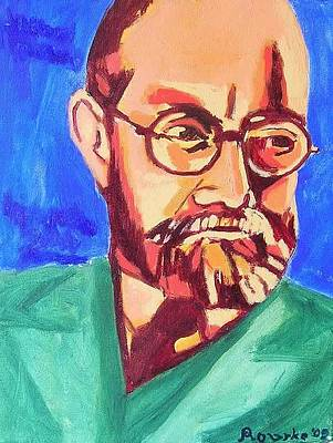 Painting - Henri Matisse by Nancy Rourke