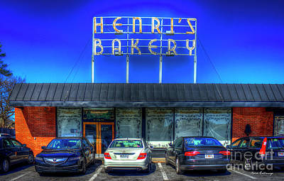 Photograph - Henri's Bakery Atlanta Landmark Bakery Art by Reid Callaway