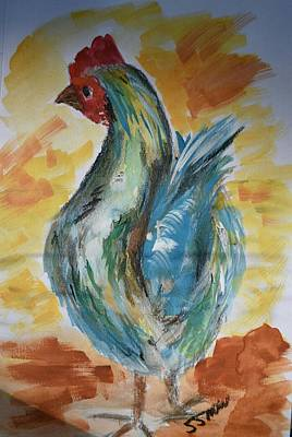 Painting - Henrietta  by Susan Snow Voidets