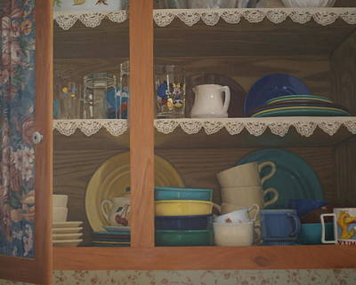 Painting - Henrietta's Cupboard by Suzn Art Memorial