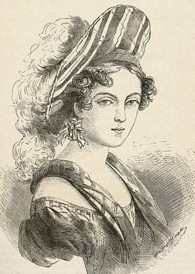 Henriette Sontag, Later Countess Rossi Art Print by Vintage Design Pics