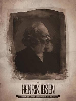 Henrik Ibsen Art Print