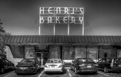 Photograph - Henri's Bakery Vintage Atlanta Landmark Bakery Art by Reid Callaway
