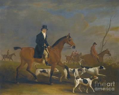 Race Horse Painting - Henry Combe Compton by MotionAge Designs