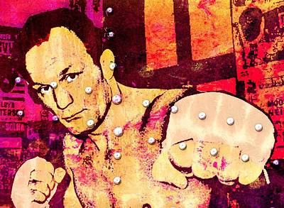 Heavyweight Mixed Media - Henry Cooper 1a by Otis Porritt