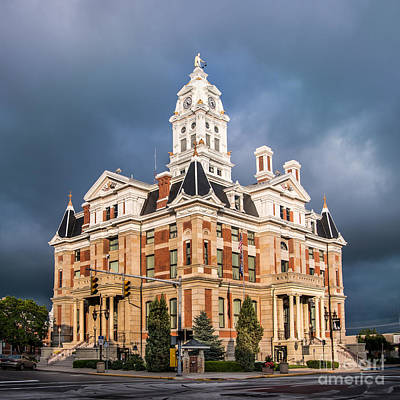 Photograph - Henry County Courthouse Napoleon Ohio by Michael Arend