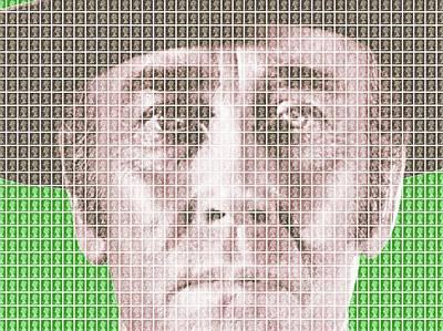 Sergio Leone Digital Art - Henry Fonda - Green by Gary Hogben