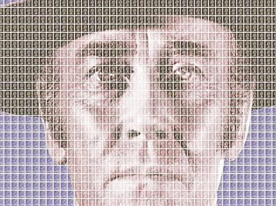 Sergio Leone Digital Art - Henry Fonda - Violet by Gary Hogben