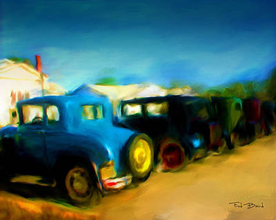 Henry Ford Weekend  1 Art Print by Fred Baird