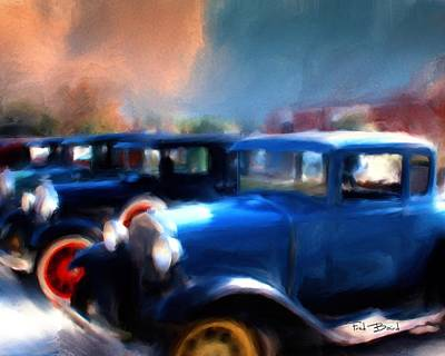 Henry Ford Weekend  2 Art Print by Fred Baird