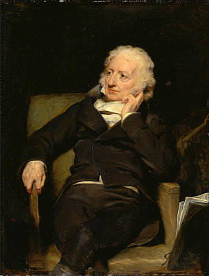 Painting - Henry Fuseli by George Henry Harlow