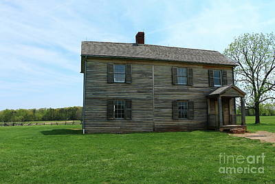 Photograph - Henry House - Manassas by Christiane Schulze Art And Photography
