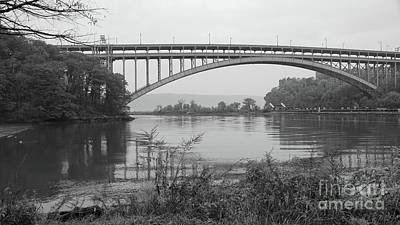 Henry Hudson Bridge  Art Print