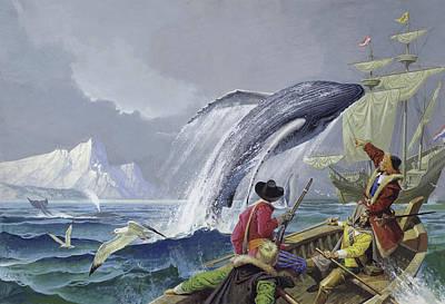 Pirate Ships Painting - Henry Hudson by Severino Baldini