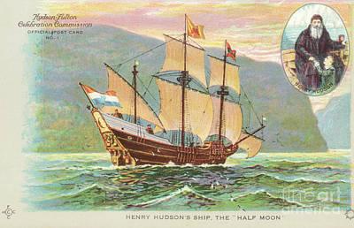 Photograph - Henry Hudson's Half Moon by Joe Santacroce