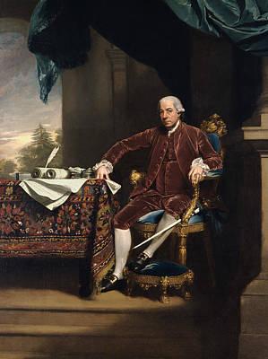 Singleton Painting - Henry Laurens by John Singleton Copley