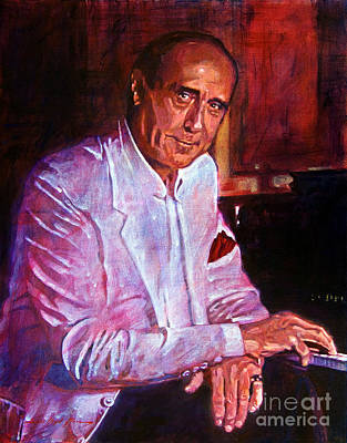 Music Legends Painting - Henry Mancini by David Lloyd Glover