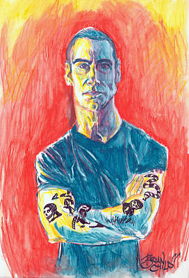 Henry Rollins Art Print by Brian Child