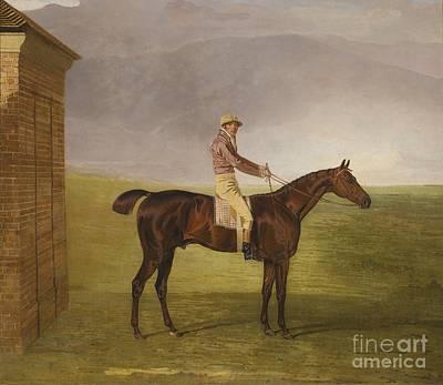 Henry Vansittart Chestnut Colt Burleigh Art Print