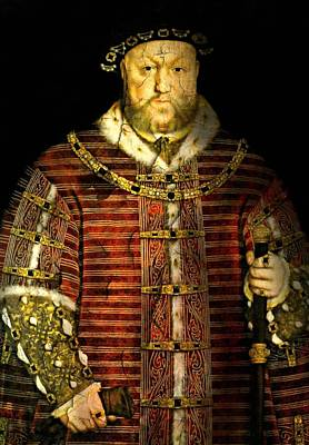 Photograph - King Henry Viii by Diana Angstadt