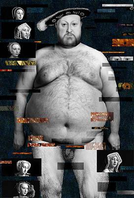 Henry Viii Nude Art Print