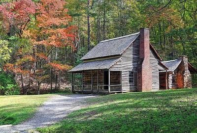 Photograph - Henry Whitehead Place In Cades Cove by Carol Montoya