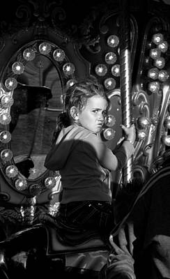 Candid Photograph - Her Expression by Maggie Terlecki