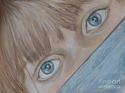 Her Eyes Original by Sandra Valentini