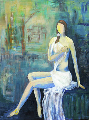 Painting - Her Grace by Haleh Mahbod
