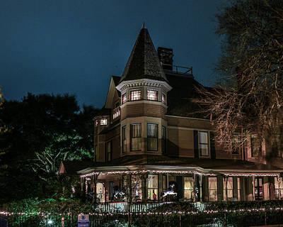 Photograph - The Bailey House In Fernandina by Paula Porterfield-Izzo