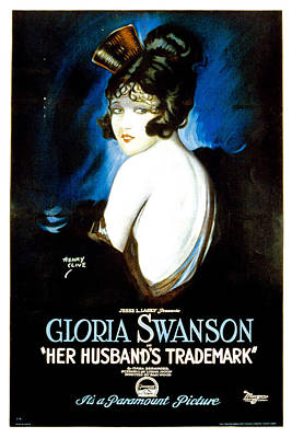 Her Husbands Trademark, Gloria Swanson Art Print by Everett