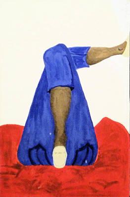Her Art Print by John Wesley