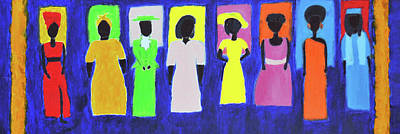 Black History Painting - Her Legacy by Kafia Haile