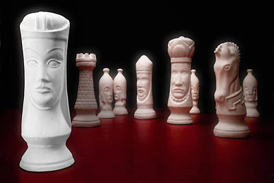 Chess Photograph - Her Majesty  by Tom Mc Nemar
