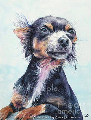 Painting - Her Name Was George by Zaira Dzhaubaeva