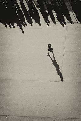 Photograph - Her Shadow by Hitendra SINKAR