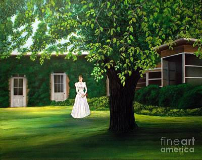 Rita Painting - Empire Ranch Her Space Her Dreams by Jerry Bokowski